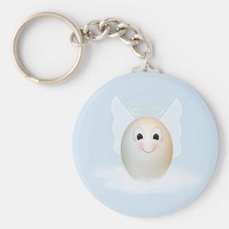 The Good Egg Angel Keychain