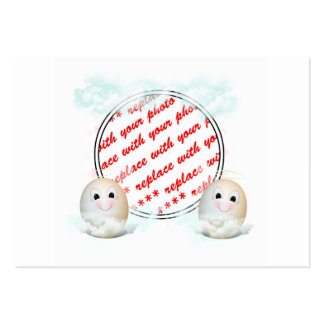 The Good Egg Angel Photo Frame Large Business Cards (Pack Of 100)
