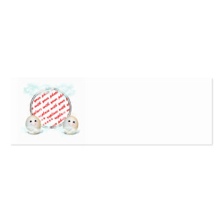 The Good Egg Angel Photo Frame Double-Sided Mini Business Cards (Pack Of 20)
