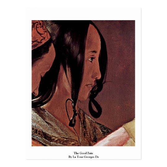 The Good Fate  By La Tour Georges De Postcard