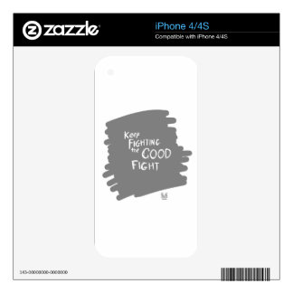 The Good fight Decals For iPhone 4S