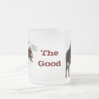 'the good' frosted mug