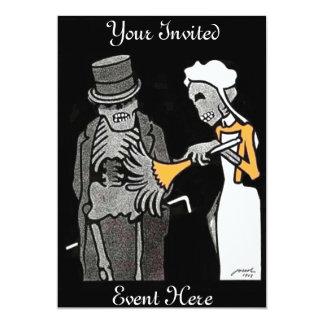 The Good Gentlemen Skeleton Invitation