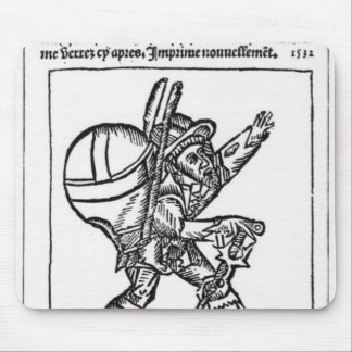 The Good Giant, from 'Gargantua' by Francois Mouse Pad