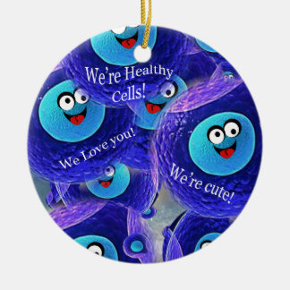 The Good Guys SuperCellular Ceramic Ornament