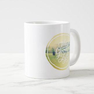 The Good Life 2 Giant Coffee Mug