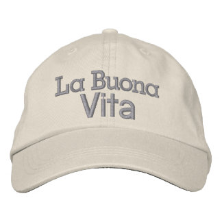The Good Life .... : ) by SRF Embroidered Baseball Hat