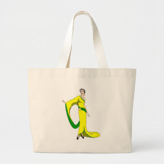 the good life in the twenties large tote bag