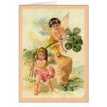 The Good Luck Fairies Greeting Card
