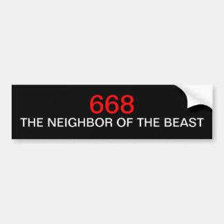 The Good Neighbor Bumper Sticker