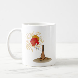 The good ol' days classic white coffee mug