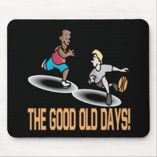 The Good Old Days Mouse Pad