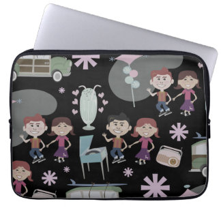 The Good Ole Days Laptop Case Laptop Sleeves