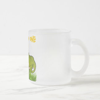 THE GOOD ONE FROSTED GLASS COFFEE MUG