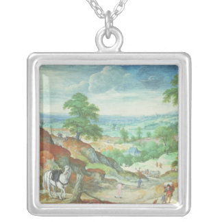 The Good Samaritan 2 Silver Plated Necklace