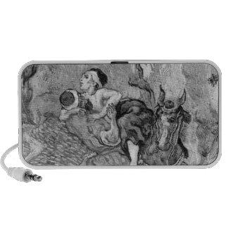 The Good Samaritan, after Delacroix, 1890 iPod Speaker