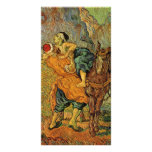 The Good Samaritan after Delacroix by van Gogh Photo Card