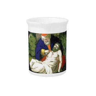 the good samaritan art pitcher