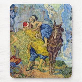 The Good Samaritan by Vincent Willem van Gogh Mouse Pad
