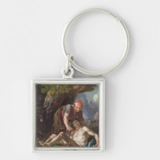 The Good Samaritan, c.1751-52 (oil on canvas) Keychain