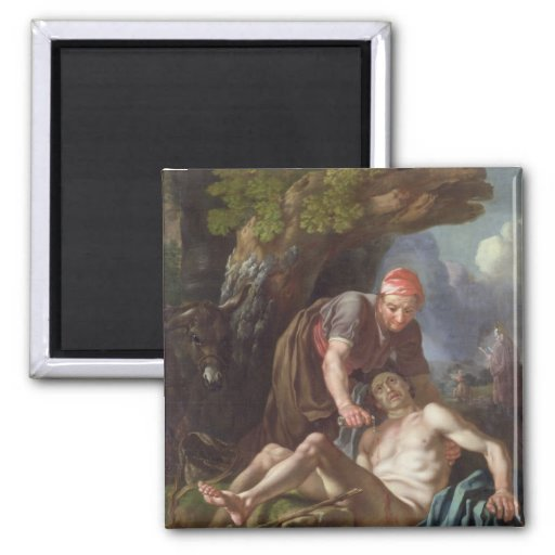 The Good Samaritan, c.1751-52 (oil on canvas) Refrigerator Magnets