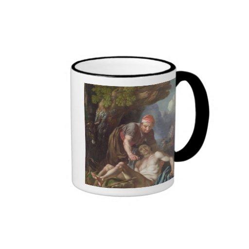 The Good Samaritan, c.1751-52 (oil on canvas) Ringer Coffee Mug