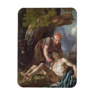 The Good Samaritan, c.1751-52 (oil on canvas) Rectangular Photo Magnet