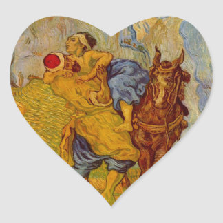 The Good Samaritan Heart Sticker