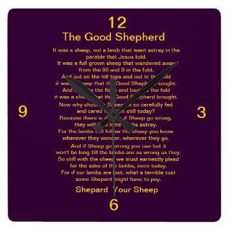 The Good Shepard Clock Square