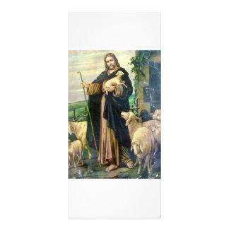 THE GOOD SHEPHERD 2 c. 1900 Rack Card