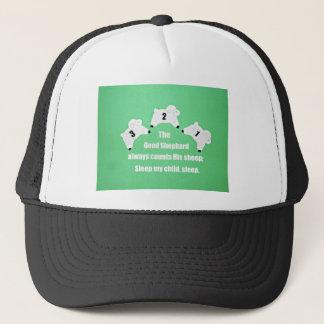 The Good Shepherd always counts His sheep... Trucker Hat