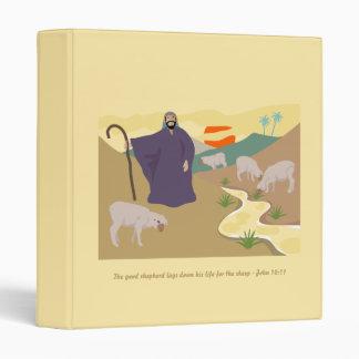 The Good Shepherd, Bible Scripture Verse Vinyl Binder