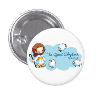 The Good Shepherd Button (more styles...)