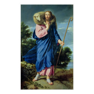 The Good Shepherd, c.1650-60 Poster