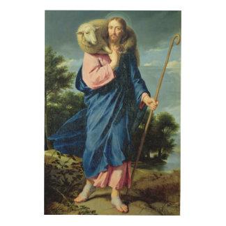 The Good Shepherd, c.1650-60 Wood Wall Art