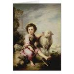 The Good Shepherd, c.1650 Greeting Cards