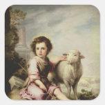 The Good Shepherd, c.1650 Stickers