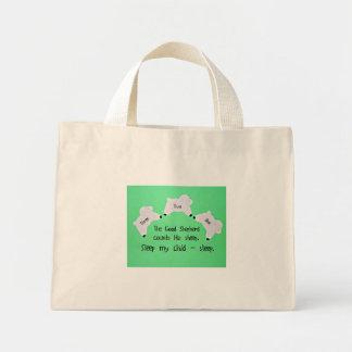 The Good Shepherd counts sheep... Canvas Bag