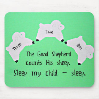 The Good Shepherd counts sheep... Mouse Pad