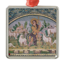 The Good Shepherd Metal Ornament