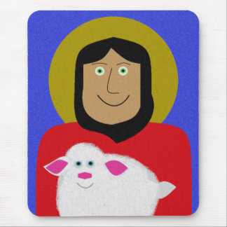 The Good Shepherd Mouse Pad
