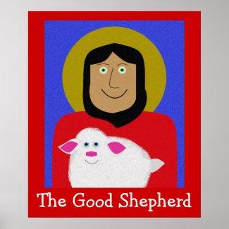 The Good Shepherd zazzle_print