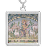 The Good Shepherd Square Pendant Necklace