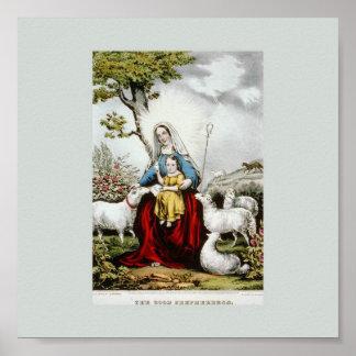The Good Shepherdess Print
