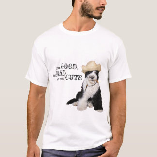 The Good, the Bad and the Cute Portie T-Shirt