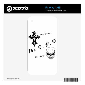 The good, the bad and the ugly decals for the iPhone 4S