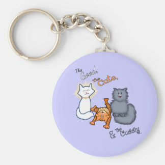 The Good The Cute The Cuddly Key Chains