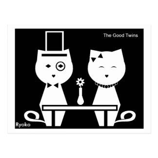 The Good Twins Postcard