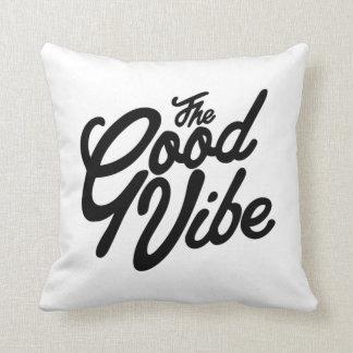 The Good Vibe Throw Pillow