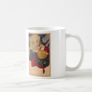 The Good Witch Cross Stitch Coffee Mug